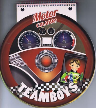 autor neuvedený: Teamboys Motor Colour! – volant
