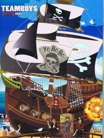 autor neuvedený: Teamboys Pirates ship