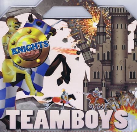 autor neuvedený: Teamboys Knights Stickers!