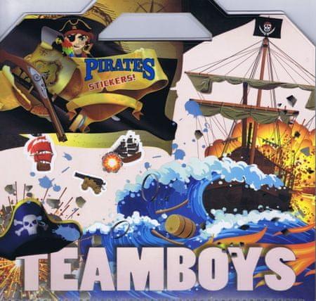 autor neuvedený: Teamboys Pirates Stickers!