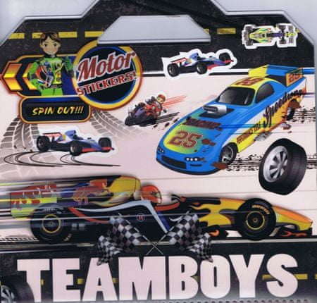 autor neuvedený: Teamboys Motor Stickers!