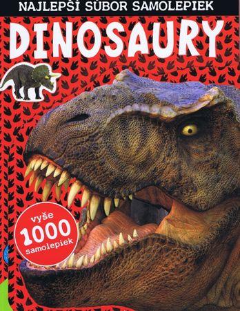 autor neuvedený: Dinosaury, najlepší súbor samolepiek