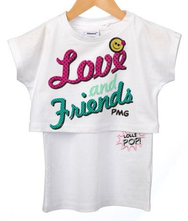 Primigi T-shirt dziewczęcy 116 biały