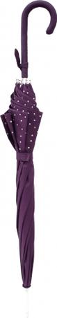 Berg dežnik Amor s plastičnim ročajem, premer 105 cm, vijoličen