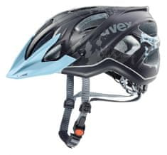 Uvex Stiva CC Lady Black-Flower Blue Mat (52-57 cm)