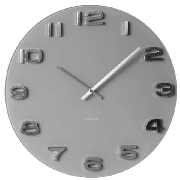 Karlsson Nástěnné hodiny KA5489GY
