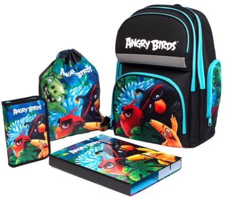 Karton P+P Školní set Angry Birds  e2eed3dddc