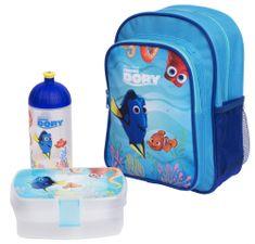 Karton P+P Předškolní set Hledá se Dory batoh, lahev, box na svačinu
