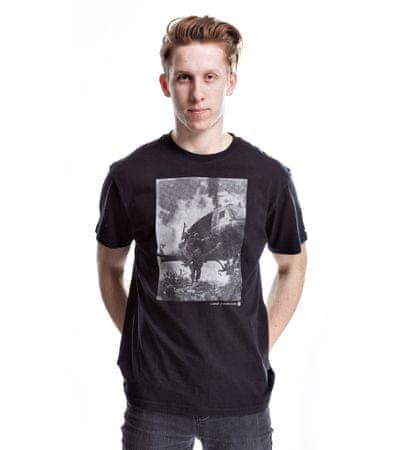 Nugget moška majica Airdrop L črna
