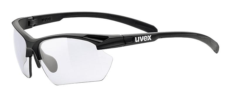 Uvex Sportstyle 802 Small Vario Black Mat (2201)
