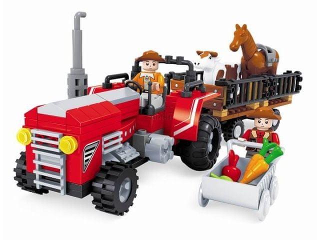 Ausini Farma, traktor velký, 215 dílů