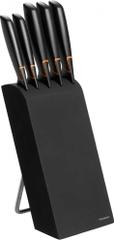 Fiskars Zestaw 5 noży w bloku EDGE (978791)
