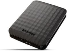 "Maxtor dysk zewnetrzny M3 Portable 500GB / USB 3.0 / 2,5"" / Black (STSHX-M500TCBM)"