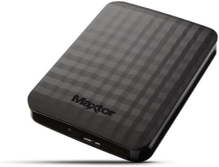 """Maxtor M3 Portable 1000 GB / Portable / USB 3.0 / 2,5"""" / Black (STSHX-M101TCBM)"""