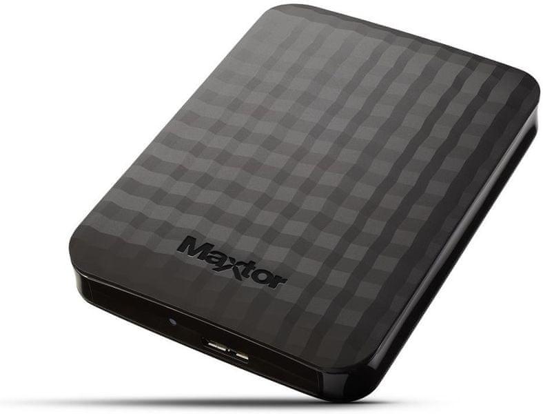 "Maxtor M3 Portable 1TB / Externí / USB 3.0 / 2,5"" / Black (STSHX-M101TCBM)"