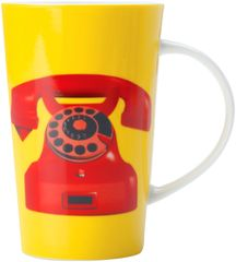 Maxwell & Williams Hrnek Dial Tone žlutý 420 ml