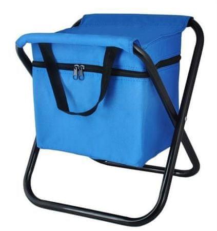 Malatec Taboret wędkarski z torbą termiczną - niebieski