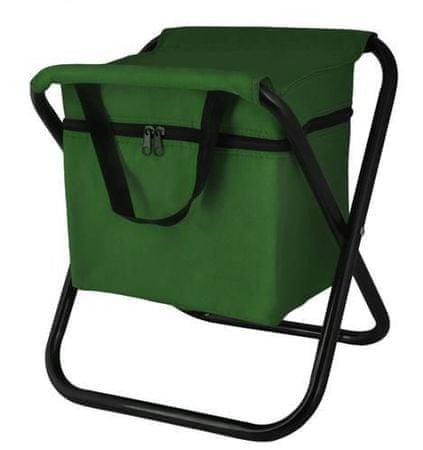 Malatec Taboret wędkarski z torbą termiczną - zielony