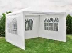 Malatec Pawilon ogrodowy 3 ścianki - 3 x 3 m - biały