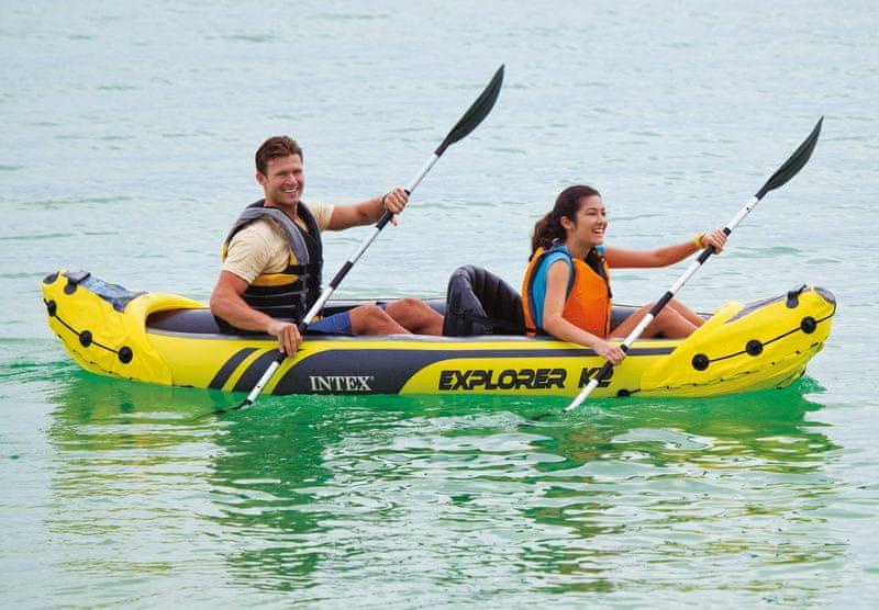 Intex Kanoe nafukovací Explorer K2