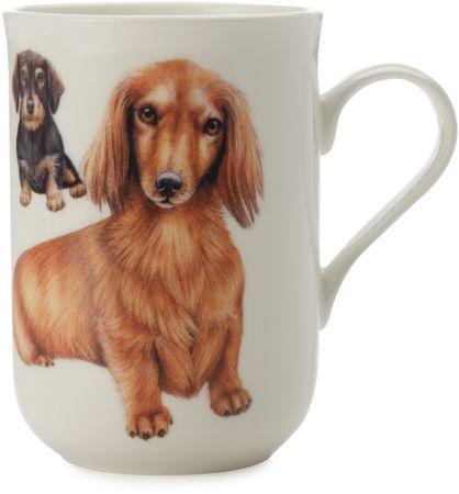 Maxwell & Williams skodelica Cashmere Pets Dog, Dachshund, 300 ml