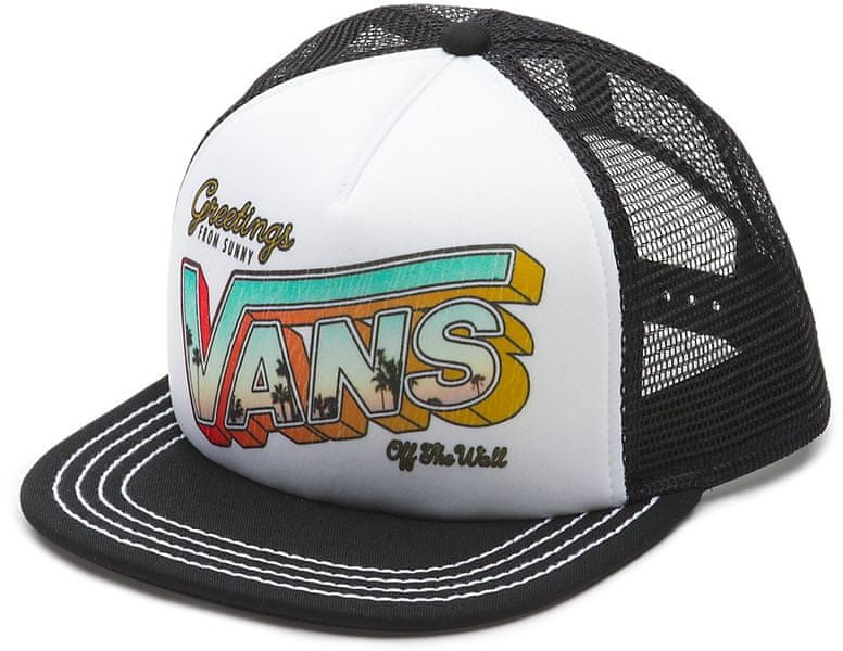 Vans Lawn Party Trucker White/Black