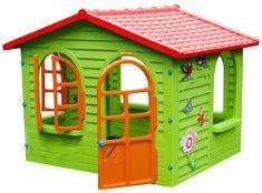 Mochtoys Záhradný domček s červenou strechou