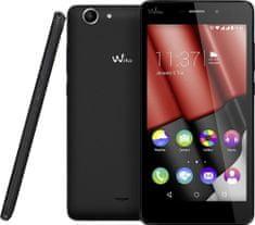 Wiko mobilni telefon Pulp FAB, 4G, crni