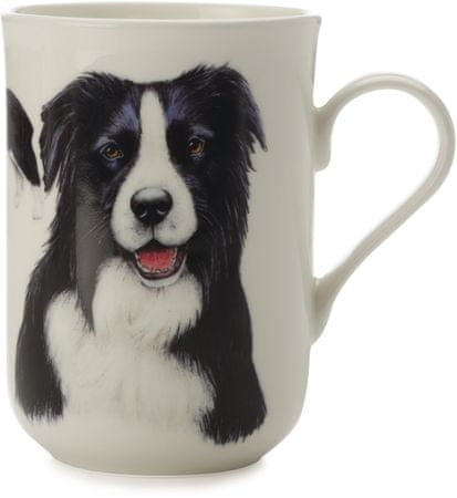 Maxwell & Williams skodelica Cashmere Pets Dog, Border Collie, 300 ml