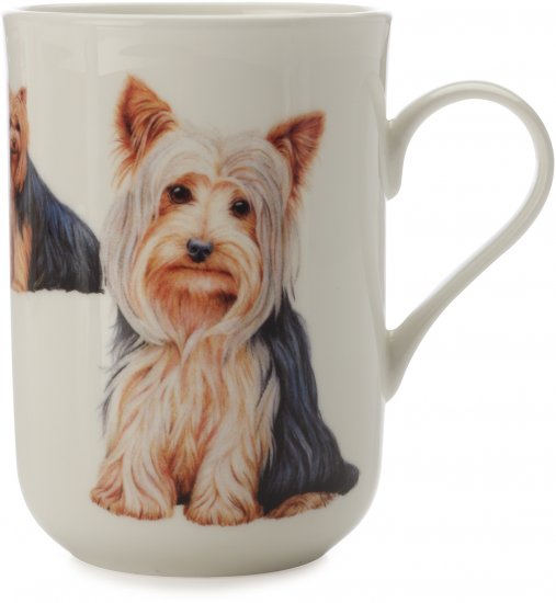 Maxwell & Williams skodelica Cashmere Pets Dog, Yorkshire Terrier, 300 ml