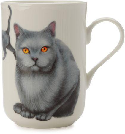 Maxwell & Williams skodelica Cashmere Pets Cat, Karthauser, 300 ml