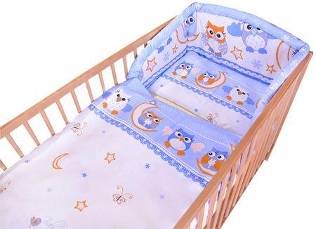 COSING Trzyczęściowy zestaw pościeli Comfort, niebieskie sowy