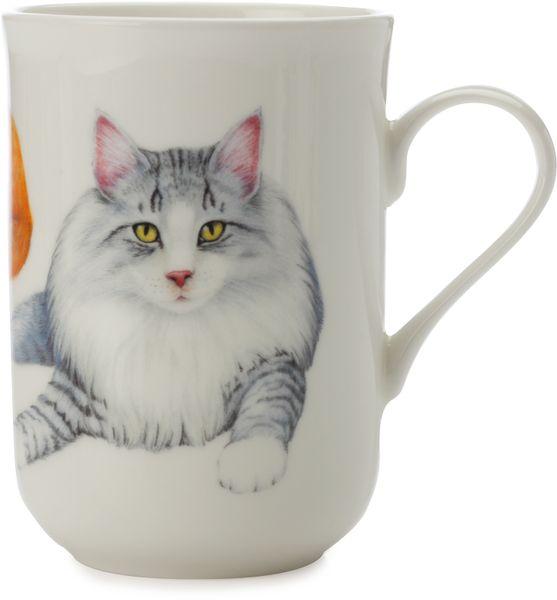 Maxwell & Williams Cashmere Pets Cat Norwegian Forest hrnek 300 ml