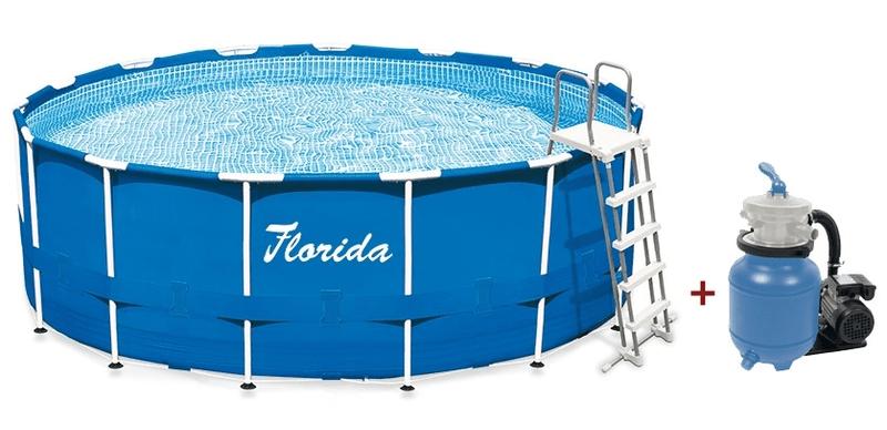 Marimex Bazén Florida 3,66x0,99 m s pískovou filtrací ProStar 3 - II. jakost