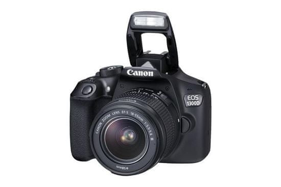 Canon fotoaparat EOS 1300D 18-55 + 75-300 DC