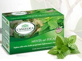 L'Angelica zeliščni čaj poprova meta in evkaliptus, 15 vrečk