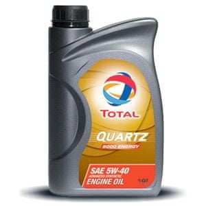 Total olje Quartz 9000 Energy 5W40 1L