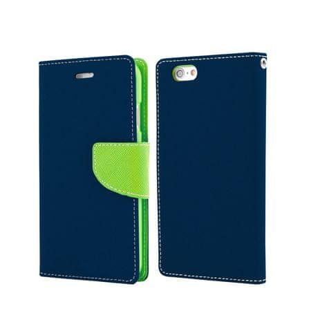 Havana preklopna torbica Fancy Diary Samsung Galaxy S7 G930, modro/zelen