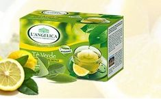 L'Angelica zeleni čaj Krepčilni zajtrk, limona, 20 vrečk