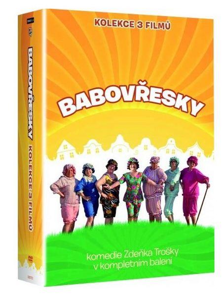 Kolekce Babovřesky 1-3 (3DVD) - DVD