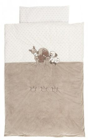 Nattou posteljnina Medo 100 x 140 cm in 40 x 60 cm