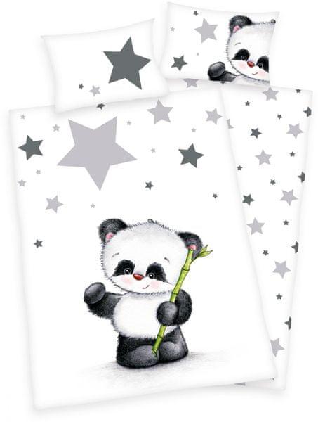 Herding Jana Panda dětské povlečení, renforcé