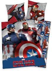 Herding Povlečení Kapitán Amerika 140x200 70x90