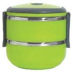 Eldom dvoudílný LUNCHBOX 1,4 l zelená - rozbaleno