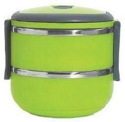 Eldom posoda za malico Lunchbox, dvodelna, 1,4 l, zelena