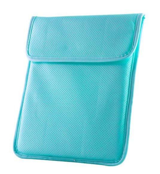 """CPA 9,7"""" pouzdro zasunovací pro 9,7"""" tablety, Velvet modré"""