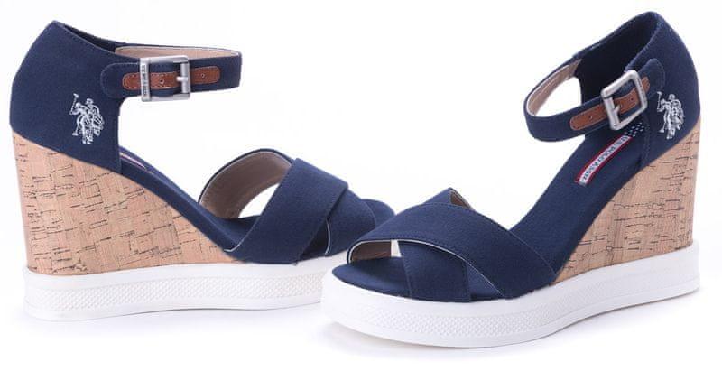 U.S. Polo Assn. dámské sandály Norma 38 tmavě modrá