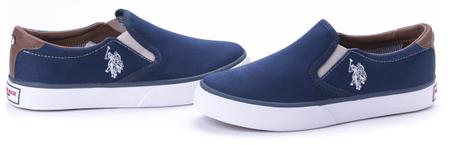 U.S. Polo Assn. dámské slip-on tenisky Nova 36 tmavě modrá