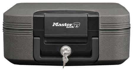 Master Lock Přenosný trezor - reset combo - černý (LCHW20101)