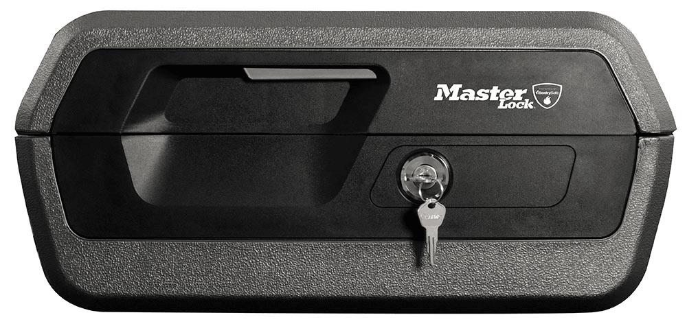Master Lock Přenosný trezor - reset combo - černý (LCFW30100)